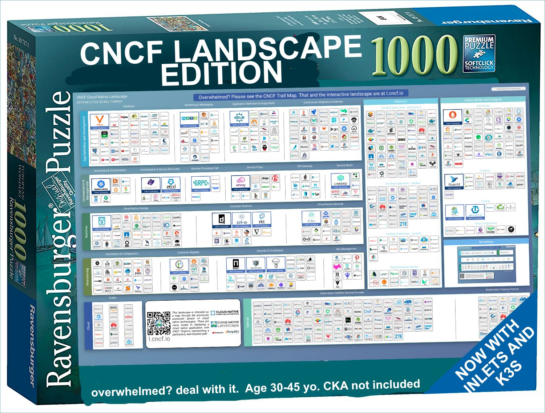 Meme CNCF landscape