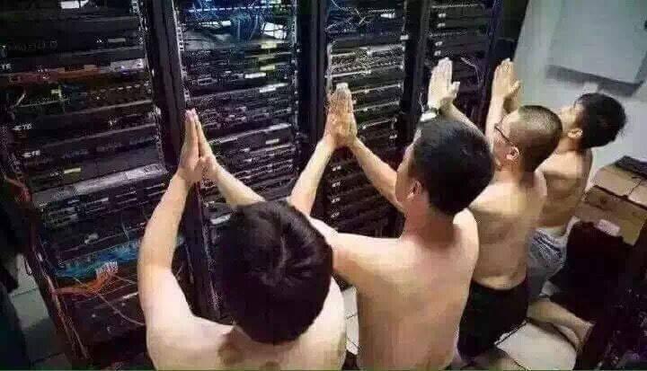 pray to server